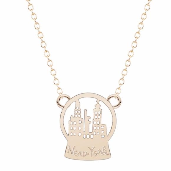 Jewelry manhattan new york city skyline pendant necklace poshmark manhattan new york city skyline pendant necklace aloadofball Choice Image
